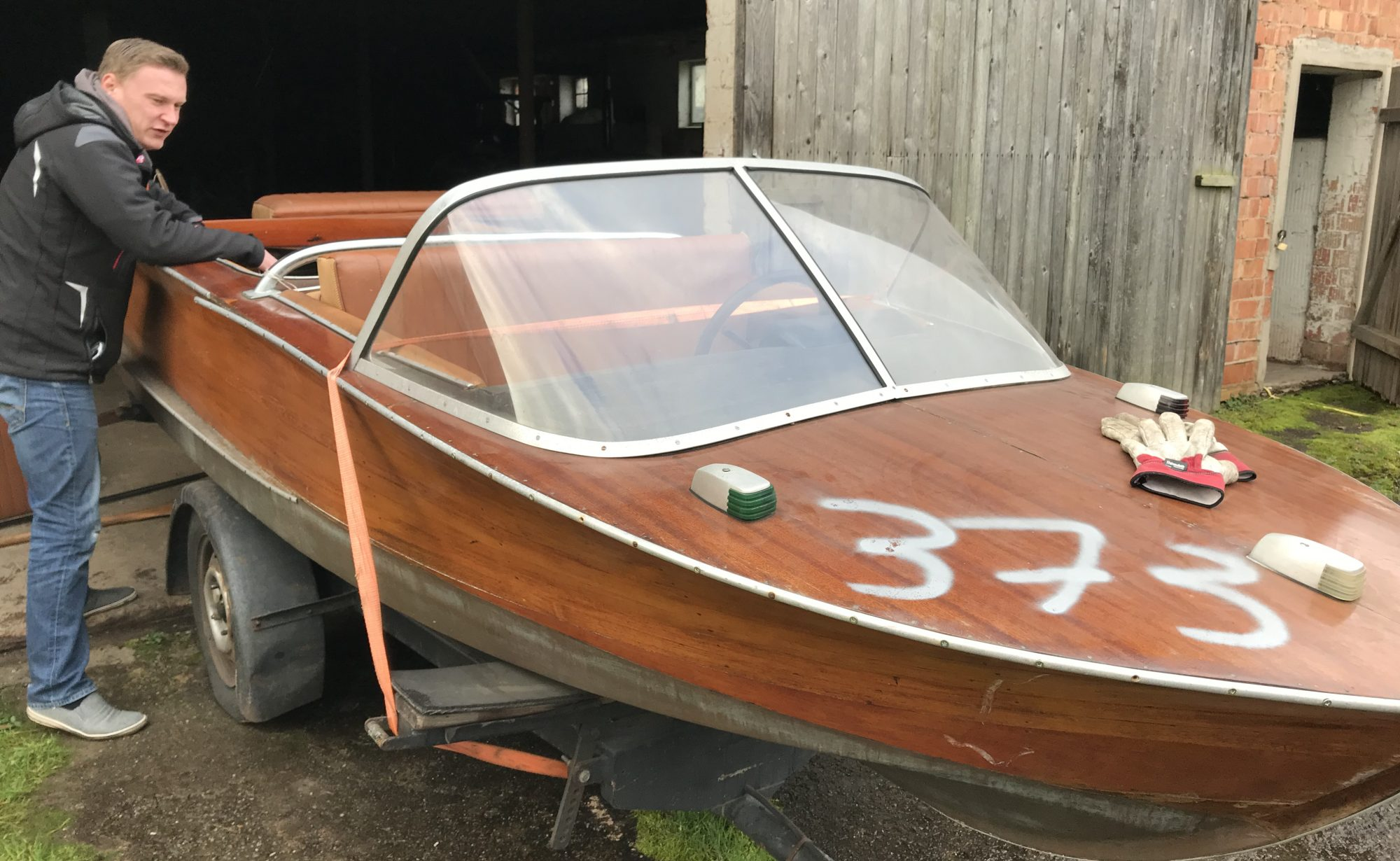 Ich und mein Holzboot